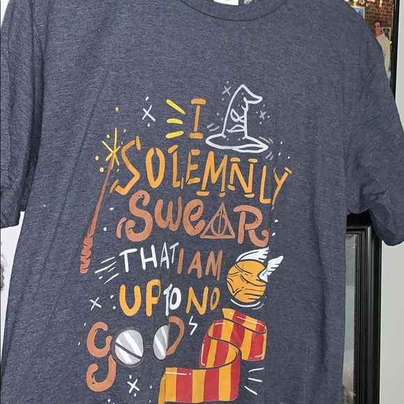 "Tops - Harry Potter t shirt ""i solemnly swear"""